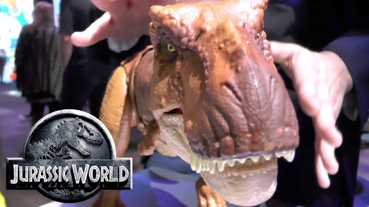 Mattel's Jurassic World Toys Are Huge, To Scale And App