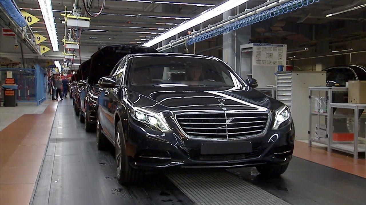 mercedes benz s class production at the sindelfingen plant