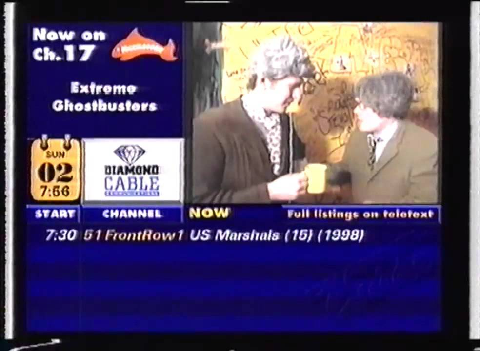 Diamond Cable Channel Guide Amp Mosaic 1999 Youtube