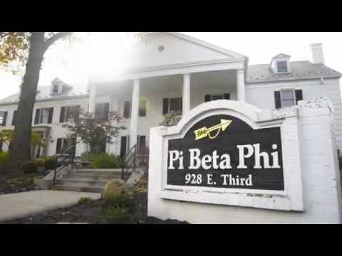 Pi Beta Phi Indiana University 2014-2015