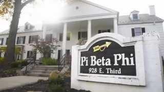 Pi Beta Phi Indiana University 2014-2015