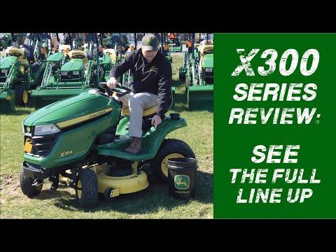 john-deere-x300-series-lawn-mower-line-up