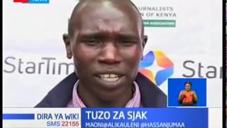 Wycliffe Kinyamal atuzwa tuzo la SJAK la mwanaspoti bora wa mwezi wa Aprili