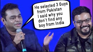Gambar cover AR Rahman On Rejecting Pakistani Artists In His 99 Songs Movie !