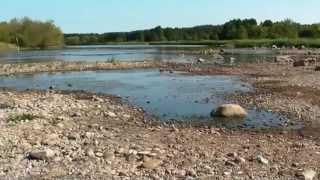 Niski poziom wody w Kamiance