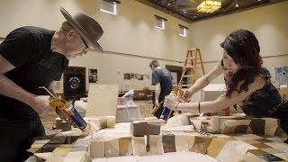 Assembling the 2,500 Piece 3D-Printed Sculpture!