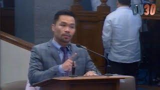 Senador Pacquiao di mapigilan ang sarili at nagsalita tungkol sa PANINIRA ng Yellow Senators