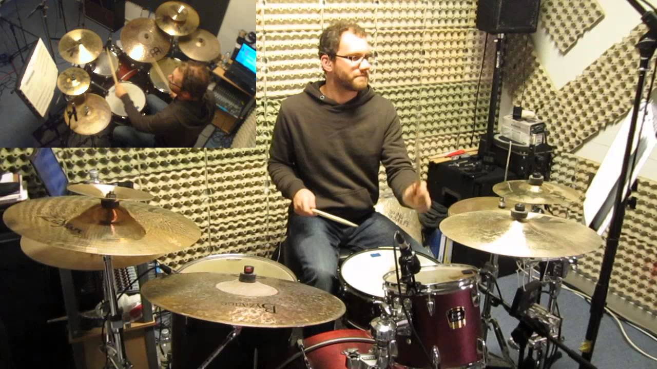 Drumset Solo - Murray Houllif - YouTube