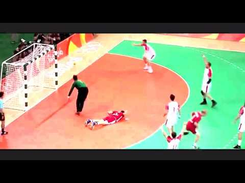 Poland vs Denmark 28 29 Handball Olympics 2016 Semi Final End of match  HD 1