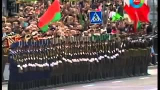 Военный парад. Эффект домино. Белоруссия.