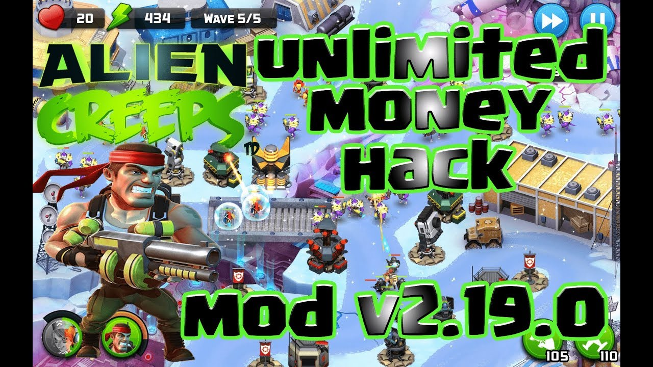 Alien Creeps TD hack Unlimited Money MOD V 2.19.0 Download Now[Android  Xhampion]