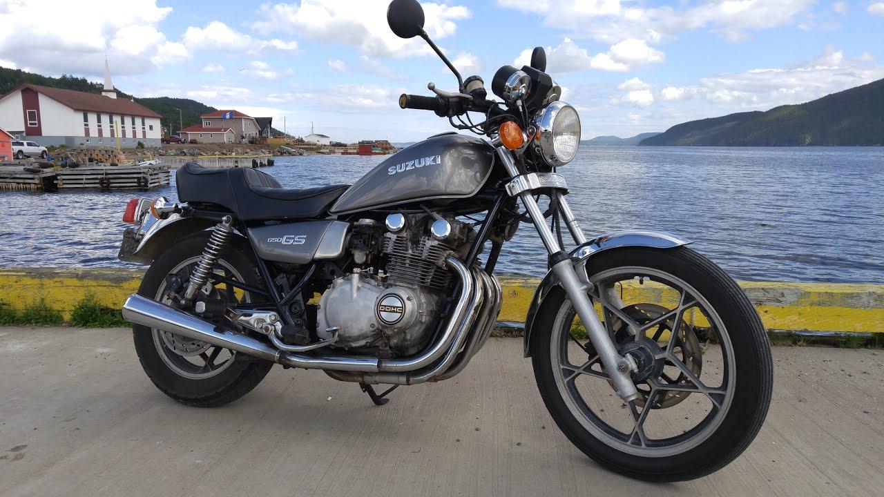 1981 Suzuki GS 650 - Motorcycle Project - YouTube