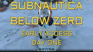 Gambar cover Subnautica Below Zero: Day One