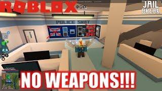 Roblox: JailBreak: NO WEAPONS Challenge