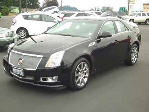 2009 cadillac cts black v1945 enumclaw seattle. Black Bedroom Furniture Sets. Home Design Ideas