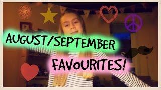 August/September favourites Thumbnail