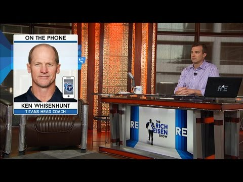 Titan's Head Coach Ken Whisenhunt talks about Marcus Mariota - 8/19/15