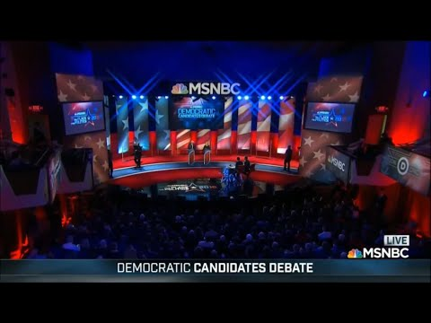 Fifth Democratic Primary Debate - February 4 2016 on MSNBC