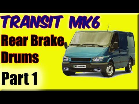 FORD TRANSIT MK6 FRONT BRAKE PADS 2.4 REAR WHEEL DRIVE 2000-2006 E MARKED