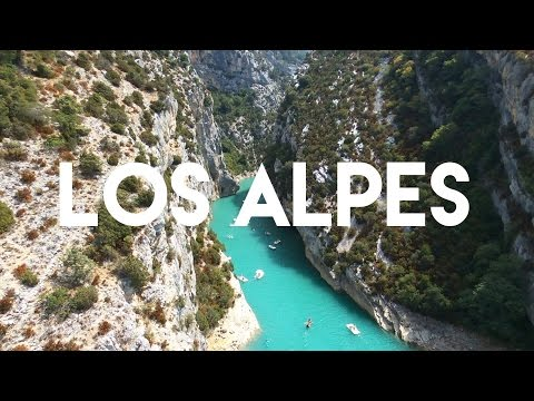Desde los Alpes franceses a la Costa Azul - Gargantas del Verdon