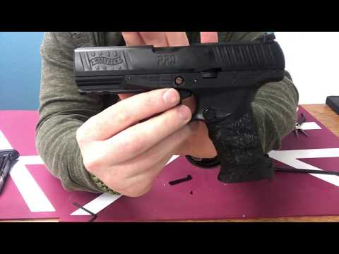 Walther PPQ Paintball Pistol Disassembly and Service