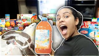 I WENT LATE NIGHT GROCERY SHOPPING!! 🛍