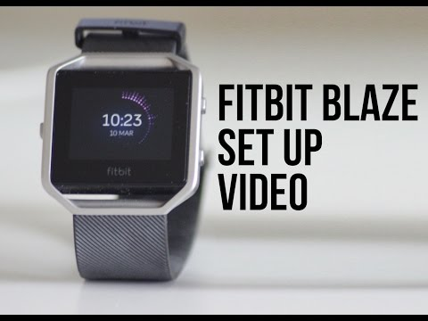 FitBit Blaze - Set Up Guide/Walkthrough using the Smartphone App