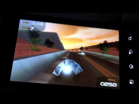 LG P990 OPTIMUS Speed im Test - Games und Performance