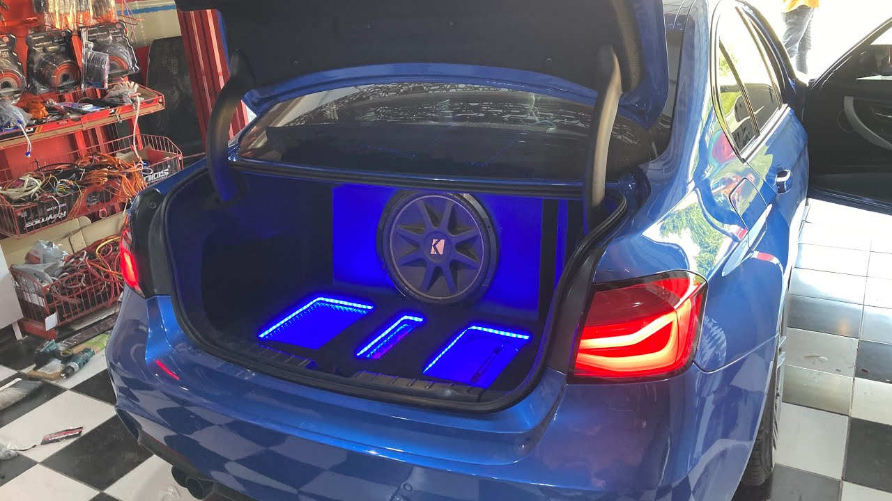 BMW F30'A ses sistemi yaptık
