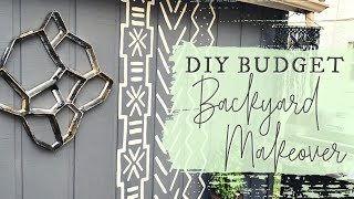 DIY Budget Backyard Makeover