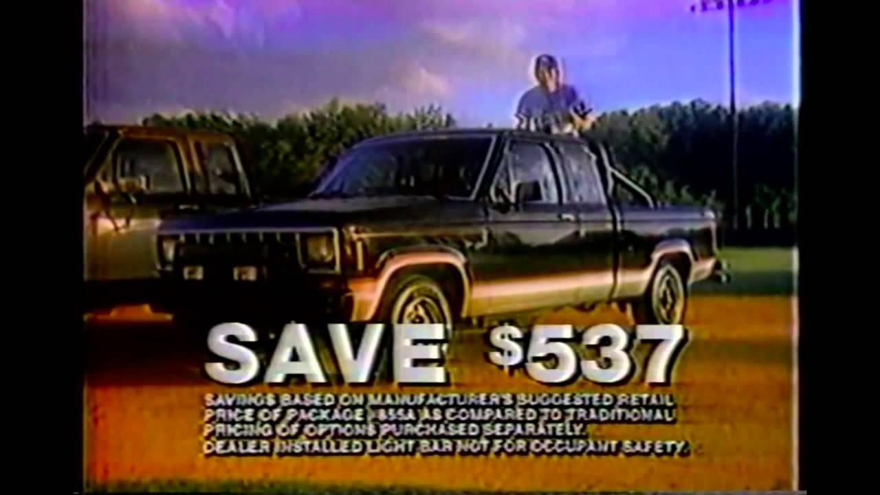 Bret Saberhagen 1985 Ford Commercial  YouTube