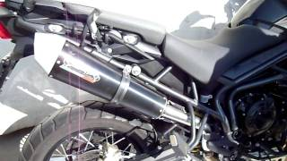 Triumph Speed Triple * Arrow Exhaust 3:1 Full System * Pussy Galore