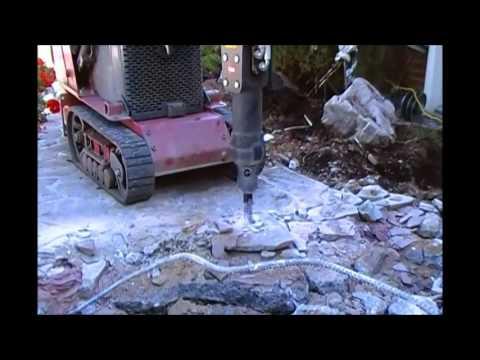 marteau piqueur toro dingo hydraulic breaker youtube. Black Bedroom Furniture Sets. Home Design Ideas