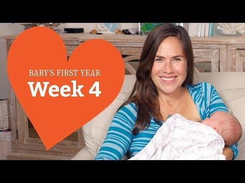 4 Week Old Baby Your Baby's Development, Week by Week
