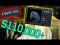 MAN SPENDS $110,000 ON STEAM LEVELS! (St4ck New Highest Steam Level Account Record)