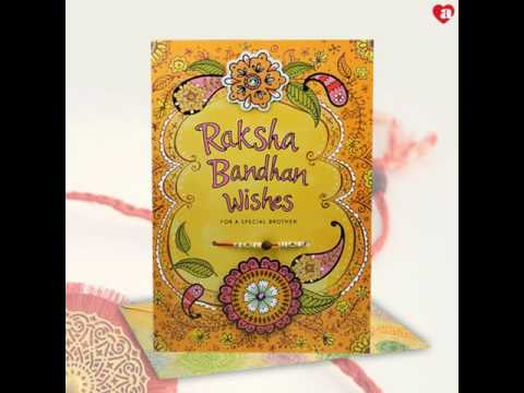 Rakhi greeting cards from archies youtube rakhi greeting cards from archies archies online m4hsunfo