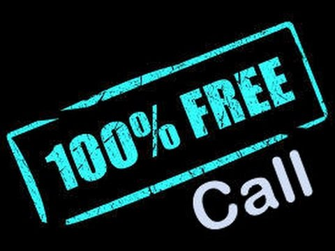 Free call anywhere in the world 100% Free.