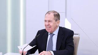 Интервью С.Лаврова российским и иностранным СМИ в формате видеоконференции, Москва, 14 апреля 2020