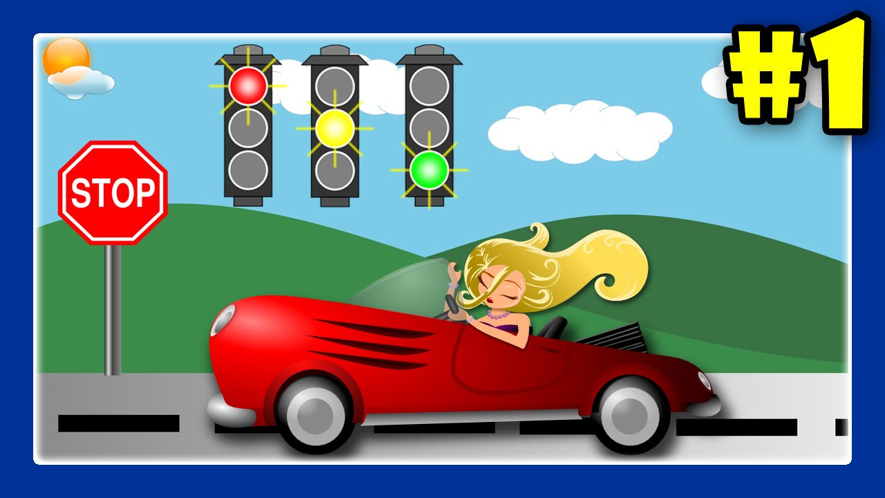 Learn Traffic Signs With Street Vehicles and Trucks for Children #1 ...