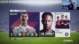 OMG FIFA 18 DEMO THE JOURNEY GAMEPLAY!!!