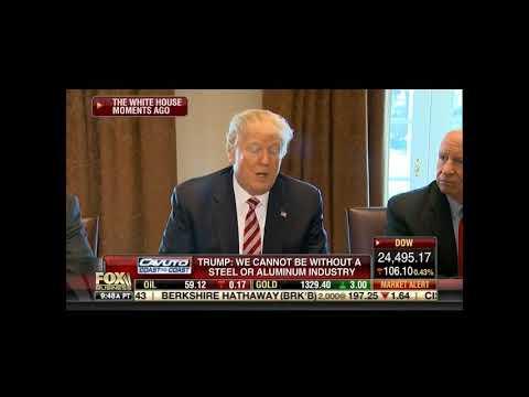 Fox Business Channel 2/13/18 Trump GM Plant Detroit