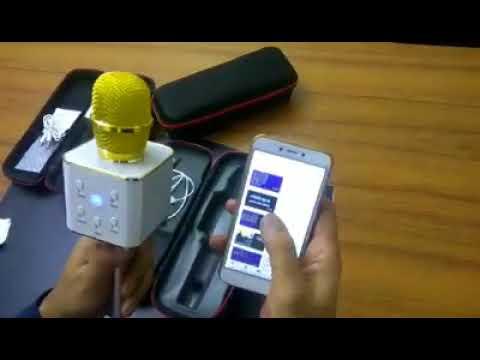 Karaoke Q7 Bluetooth Mircrphone