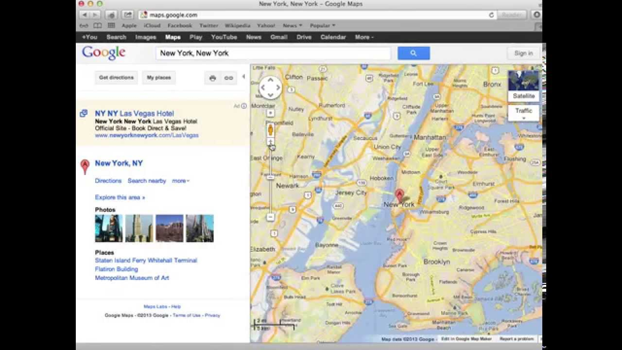 How To Embed An Interactive Google Map Into Your Web Page YouTube - How to add clickable us map to webpage