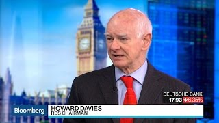 RBS Chairman Davies Sees Euro Zone Bank Consolidation