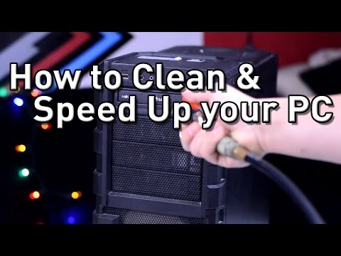How To Clean & Speed Up Your PC! Hardware & Software!