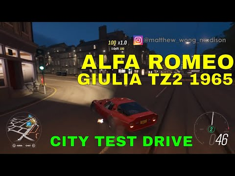 ALFA ROMEO GIULIA TZ2 1965 Test Drive in City - Forza Horizon 4 Gameplay #23