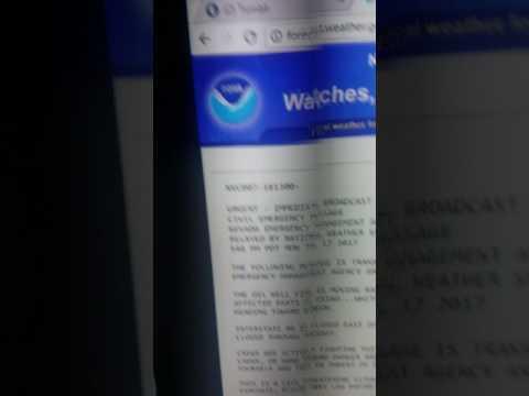 Civil emergency message for Elko Nevada on weather.gov