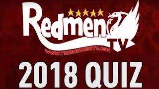 Redmen TV 2018 Quiz! | Paul & Chris v Tom & Si
