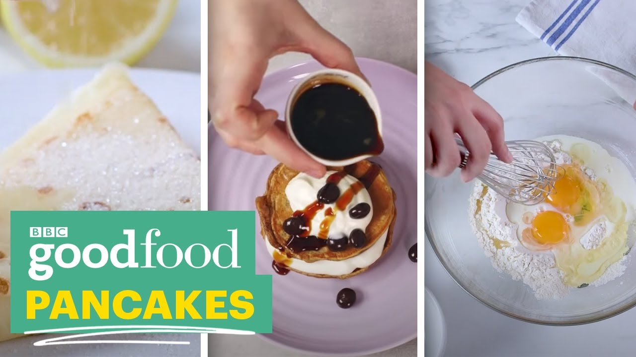How to make pancakes bbc good food youtube forumfinder Gallery