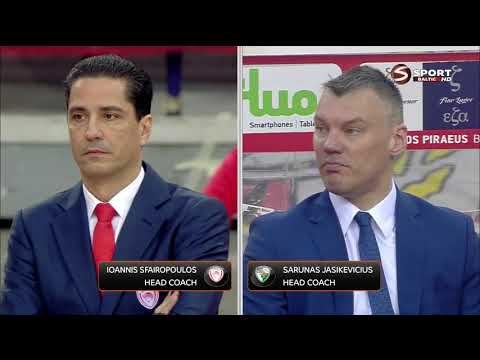 Euroleague Olympiacos Žalgiris LT 2018 04 06